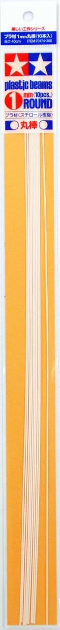 Profil Plast 1 mm Kulatina *10