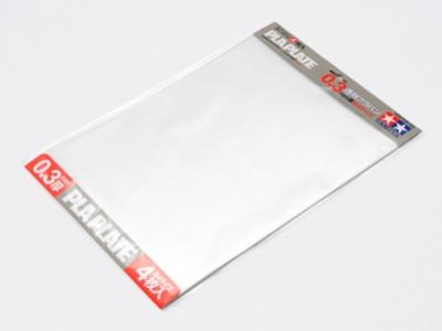Plastová destička 0.3mm B4 *4 průhledná