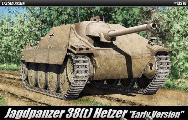 Jagdpanzer 38(t) Hetzer Early