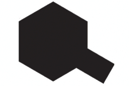 Tamiya X-18 Black/Černá Polomatná