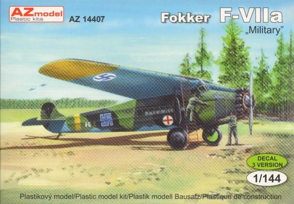 Fokker F.VIIa Military