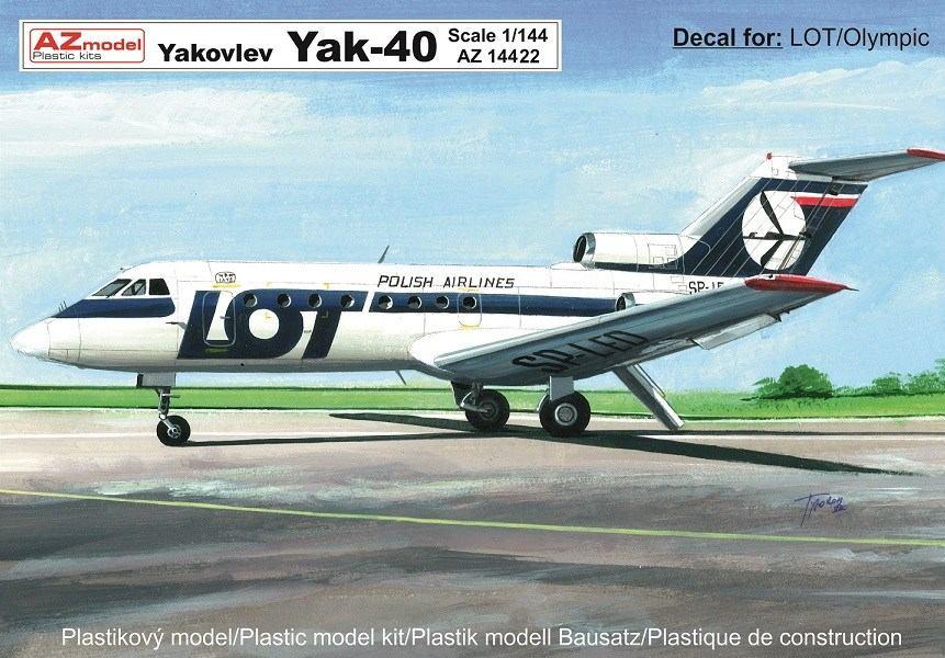 Jak-40 LOT, Olympic