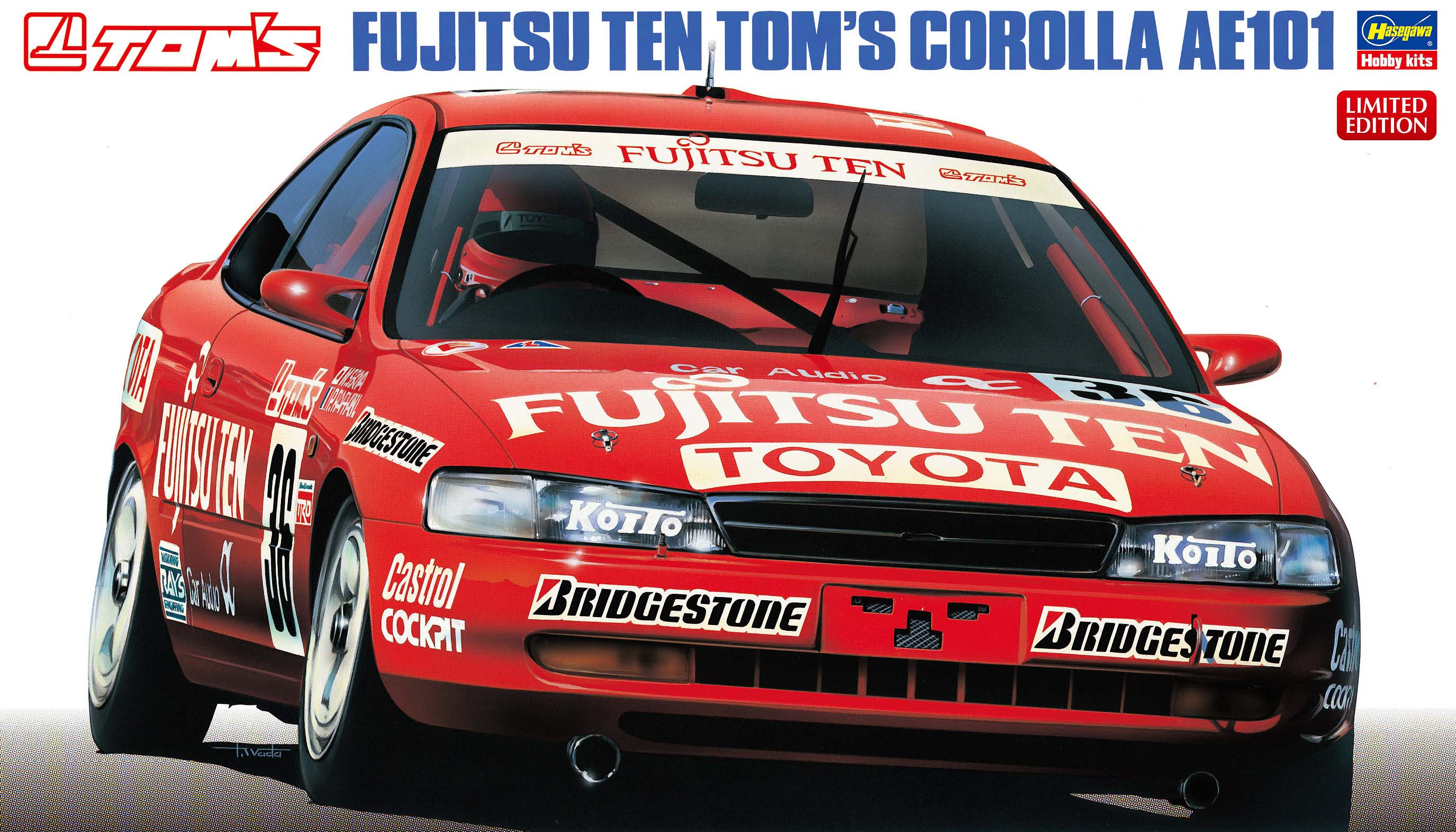 Fujitsu Ten Toms Corolla AE101