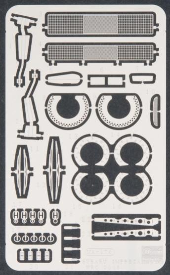 Subaru Impreza WRC PE parts for CR35