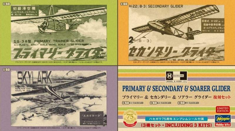 """1/50, 1/60 Glider """"Three Kits"""""""