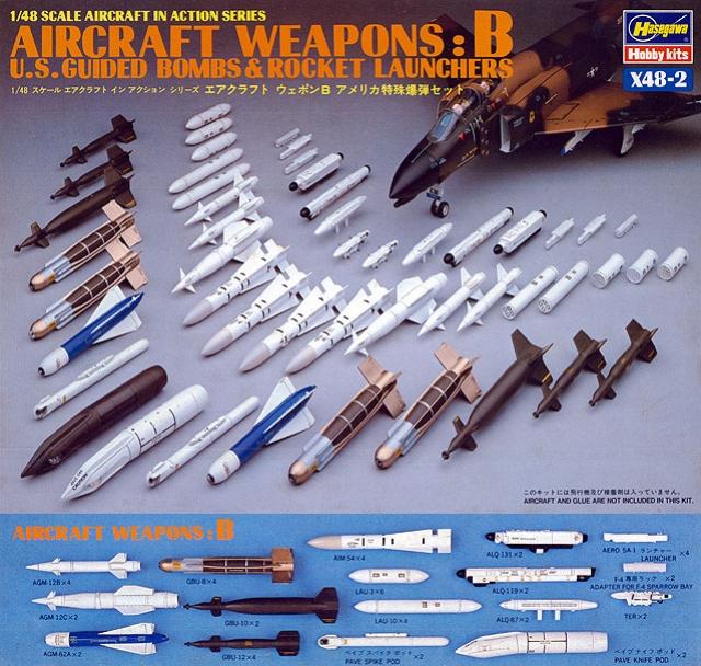 US Aircraft Weapons B Giud.bombs&Roc.L.