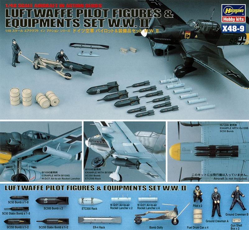 Luftwaffe Pilot & Equipment set WWII