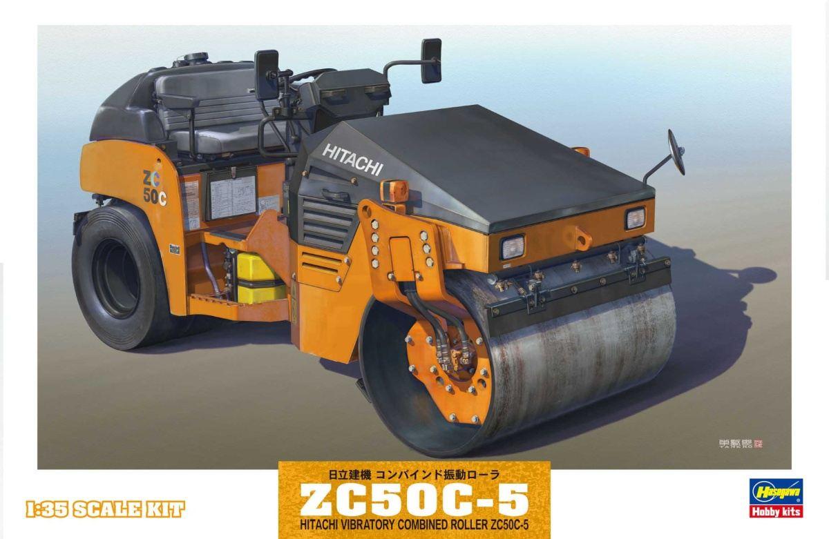 Hitachi Vibratory Combined Roller