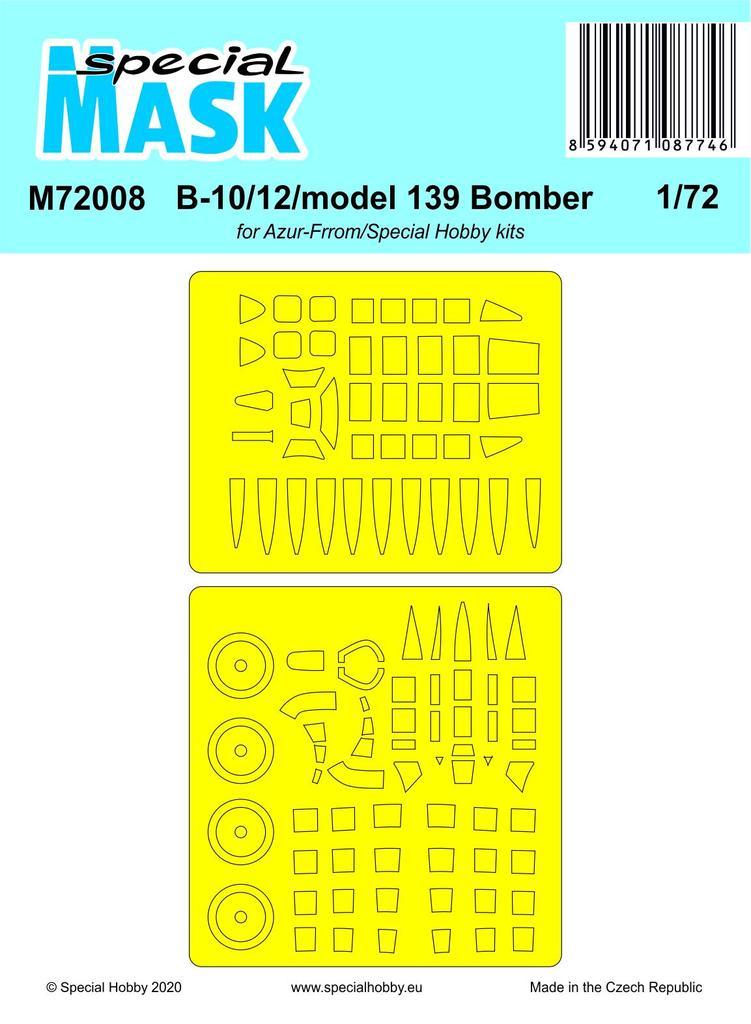 B-10/12/model 139 Bomber Mask