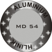 Hliník - Star Dust Metallic