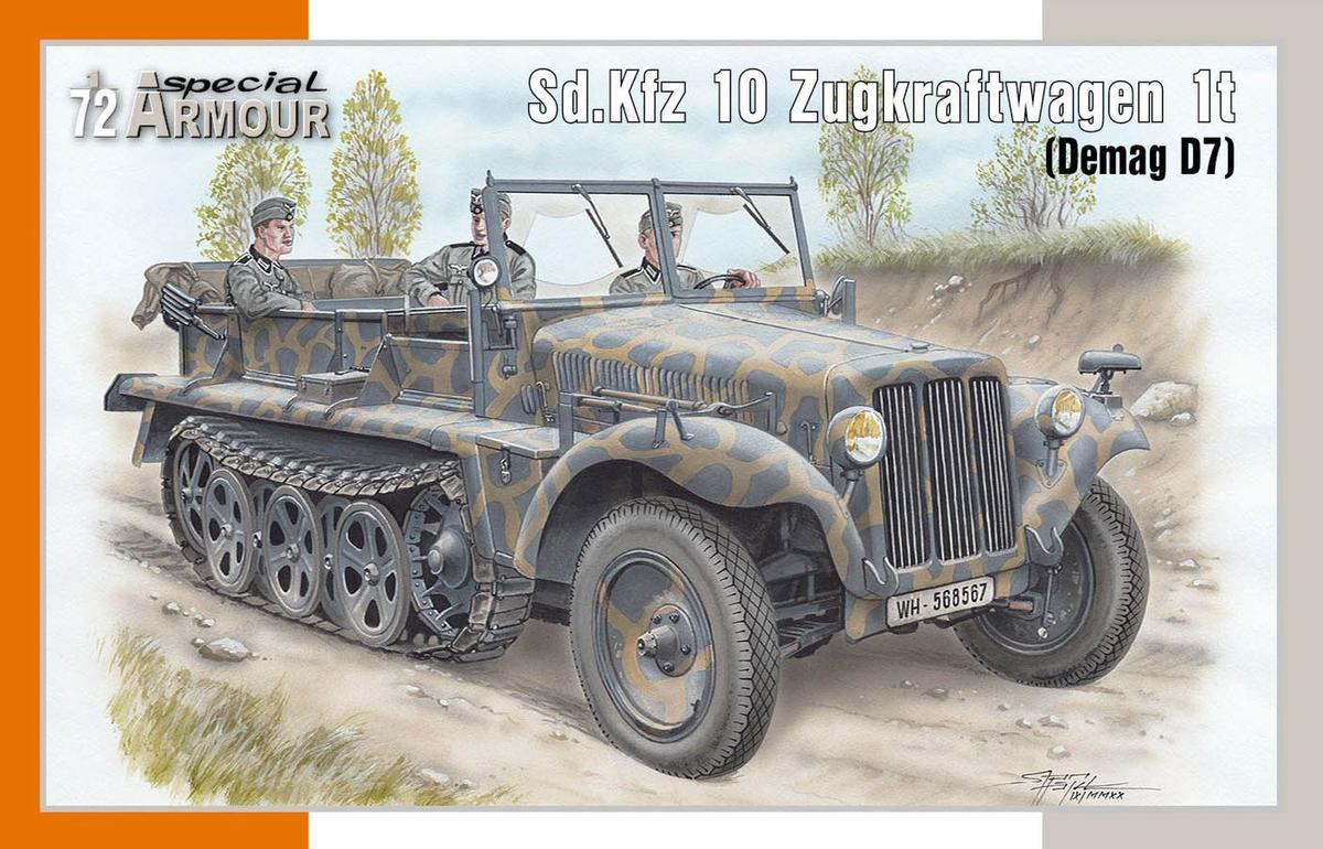 Sd.Kfz.10 Zugkraftwagen 1t (Demag D7)