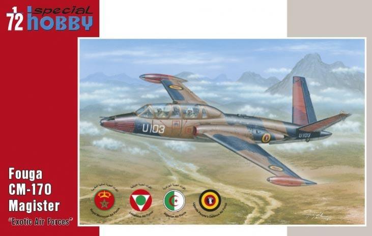 """+ Fouga CM.170 Magister """"Exotic AF"""""""