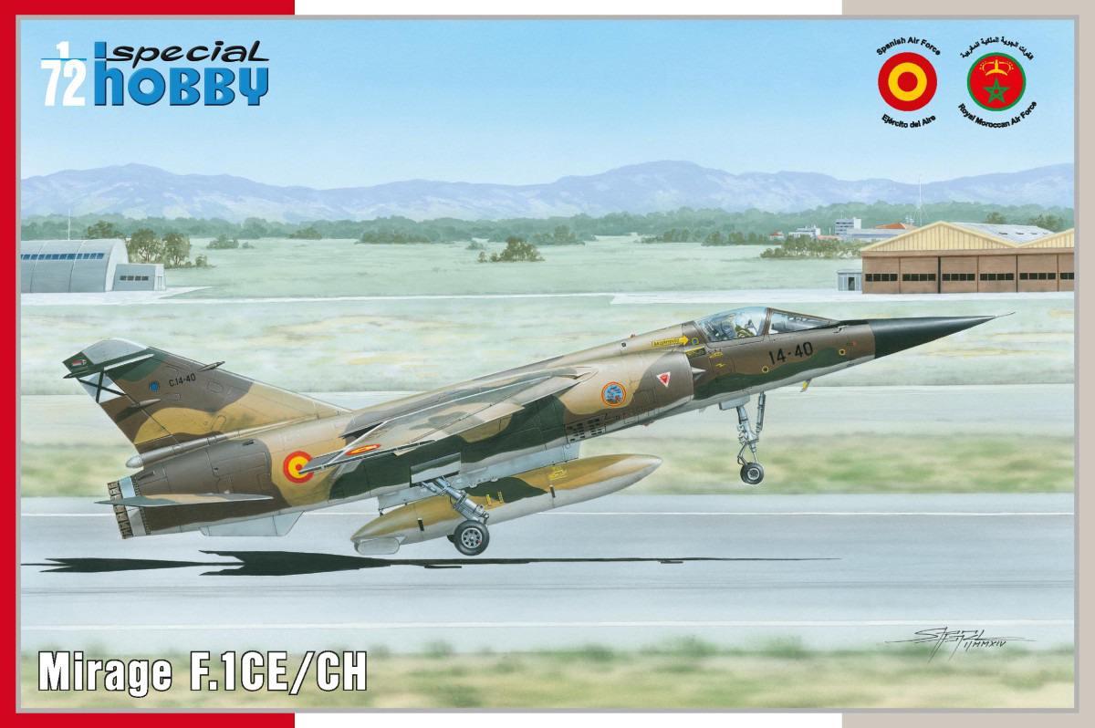 """Mirage F.1CE/CH """"Spain+Marocco"""""""