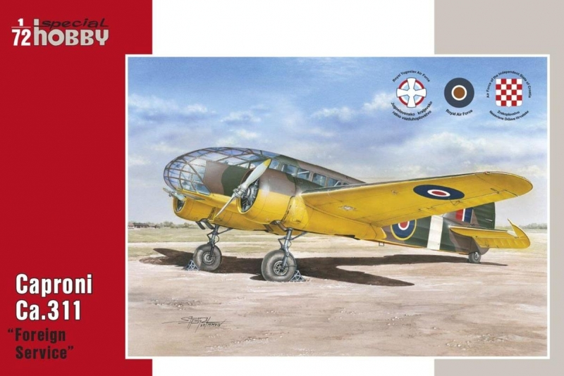 """Caproni Ca.311 """"Foreing Service"""""""