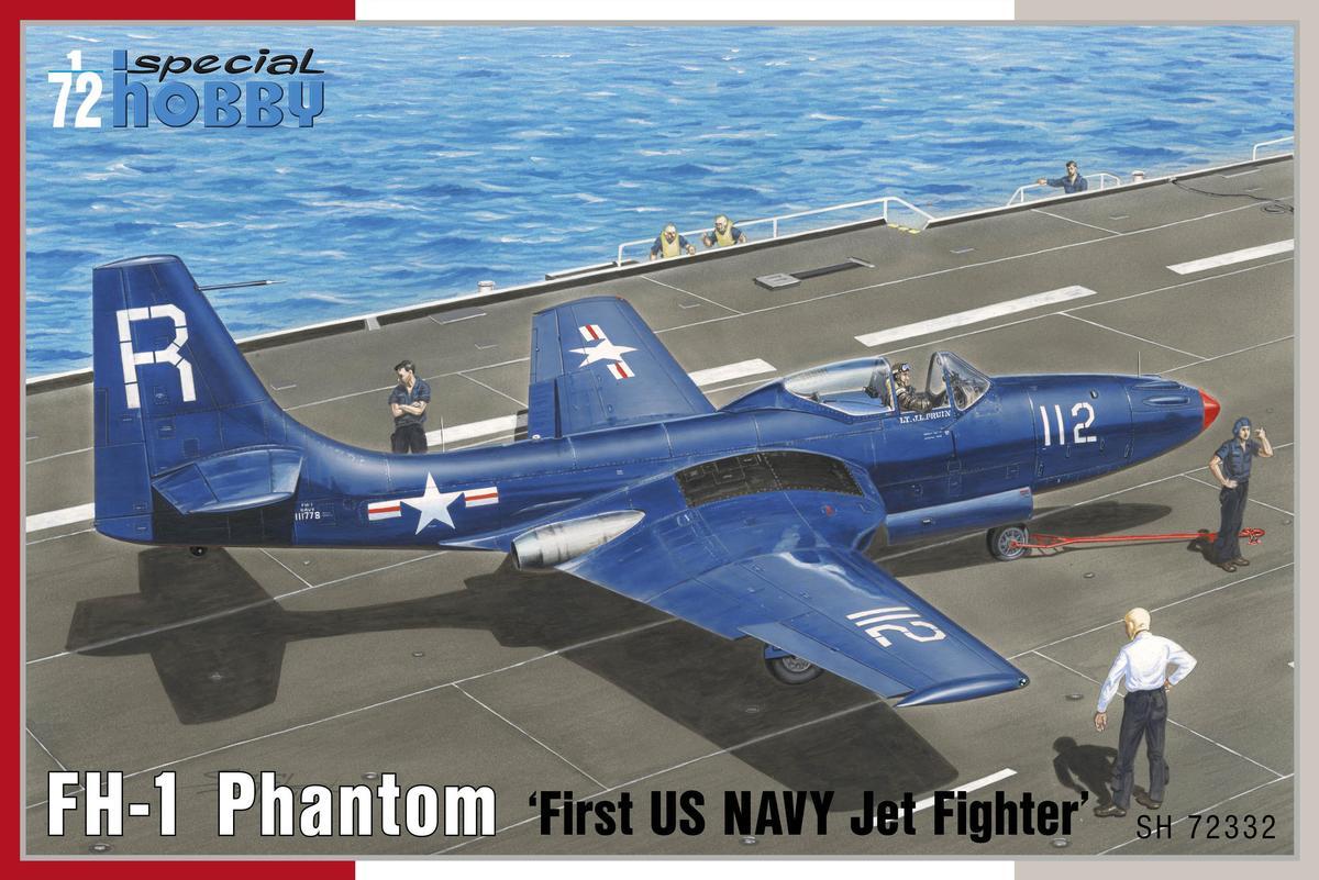 "FH-1 Phantom ""First US Navy Jet Fighter"""