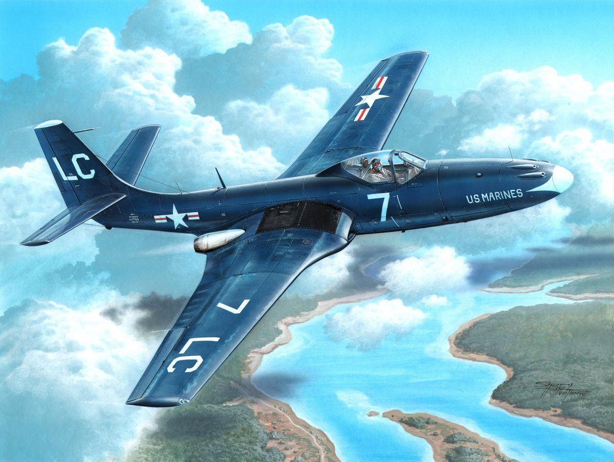 "FH-1 Phantom ""Marines First Jet"""