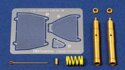 Yamaha YZR-M1 ´09 Front Work