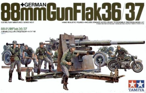 88mm Gun Flak 36/37