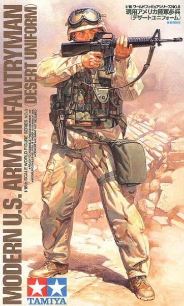 Modern US Infantry/desert
