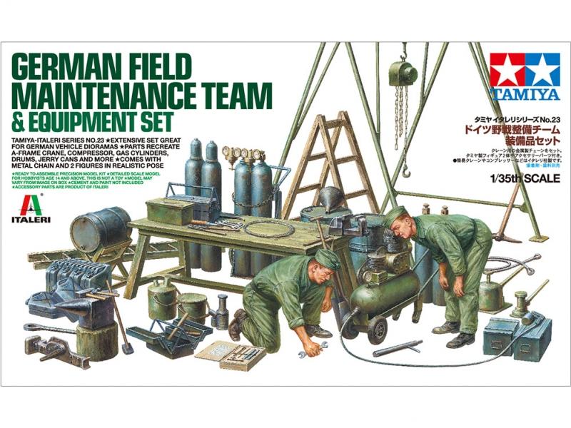 German Field Team Equipment