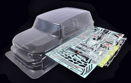 Toyota FJ Cruiser Body