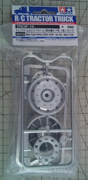 Plated Wheels (30mm/Hex/Matte)