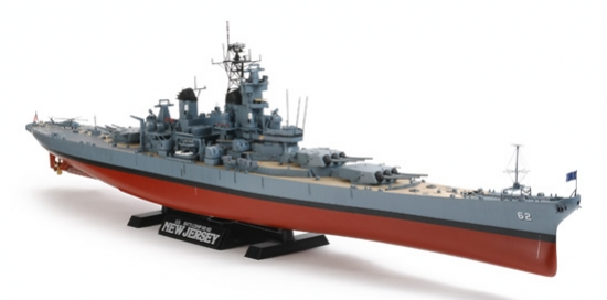 USS New Jersey (W/Detail) 1/350