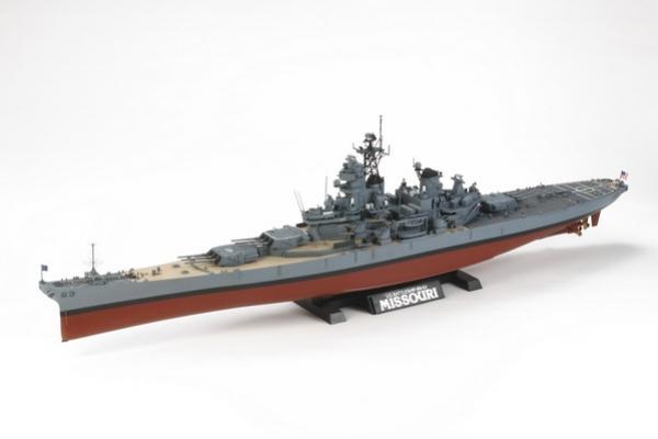 USS Missouri cca 1991 1/350