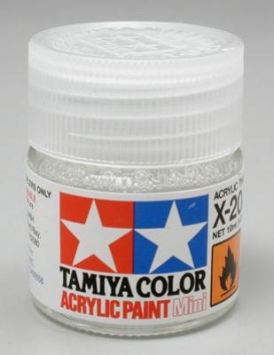 Tamiya X-20A Ředidlo 10ml pro akr.barvy