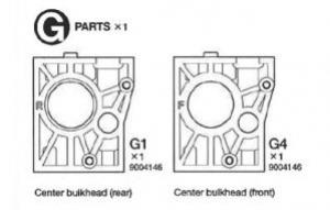 C.Bulkhead Parts Bag for 43145
