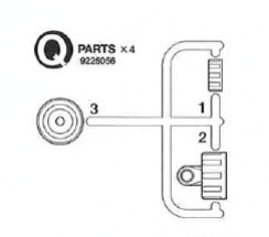 Q Parts (Q1-Q3,*2)
