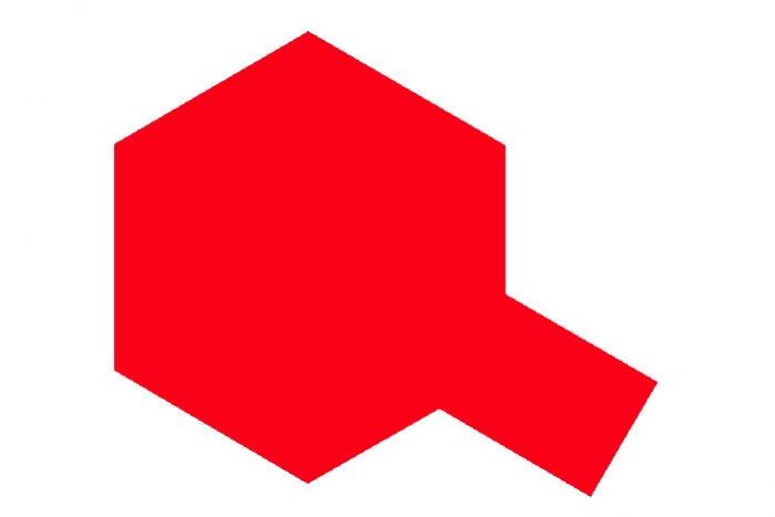 Fluorescent Red - Fluorescentní Červená