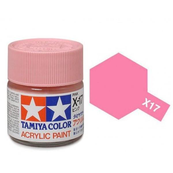 Tamiya X-17 Pink/Růžová