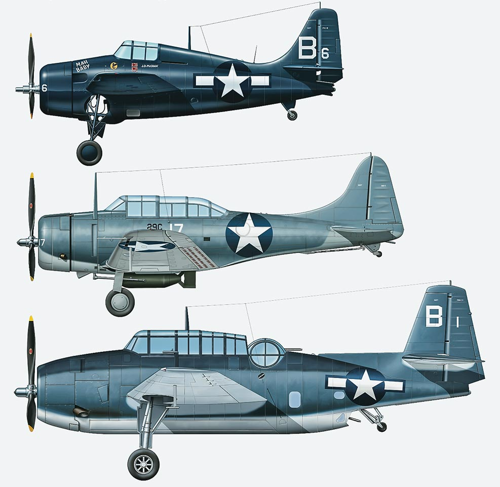 US Navy Carrier-based Aircraft set