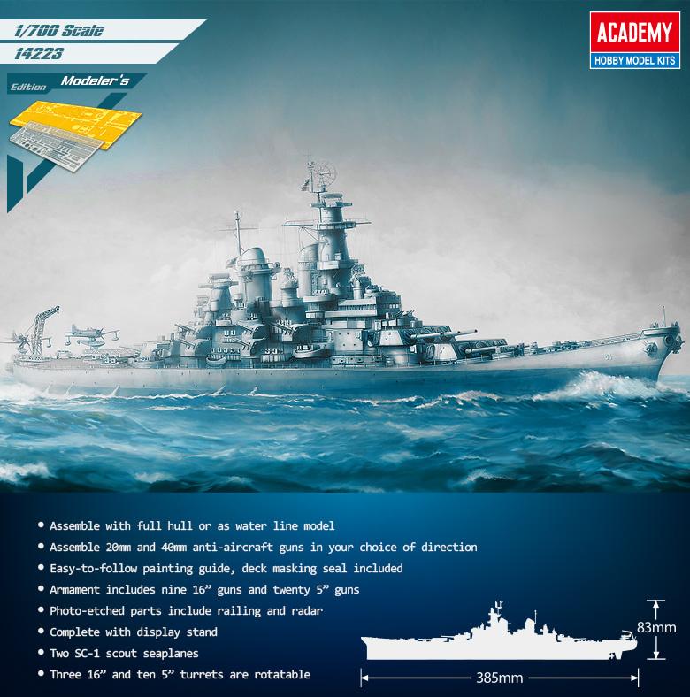 USS Missouri BB-63 Modellers Edition