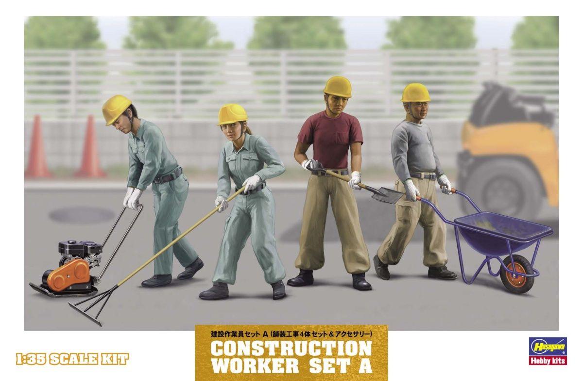 Constuction Worker set A